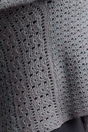 Lace Canopy Cardi Wrap - detail | by Simona Merchant-Dest Designs