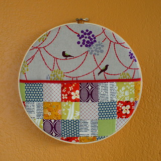 Hanging Hoop Wall Pocket Swap | by Spotted Stone Studio {Krista}