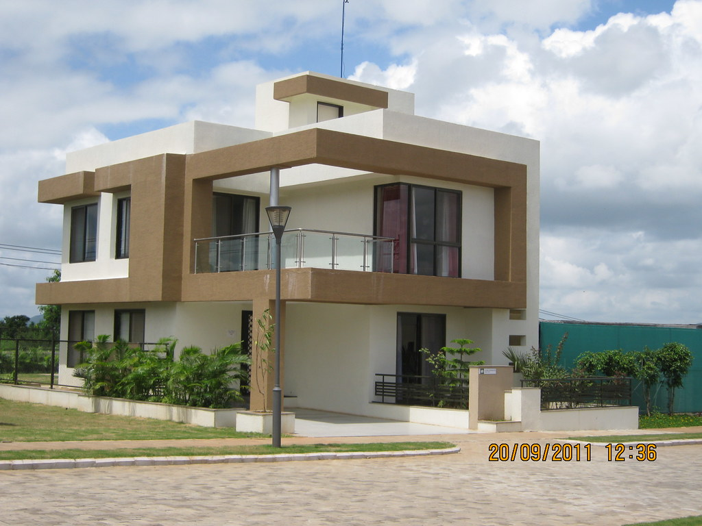 """Sample Bungalow at Kolte-Patil I-Ven """"Special"""" Township at ..."""