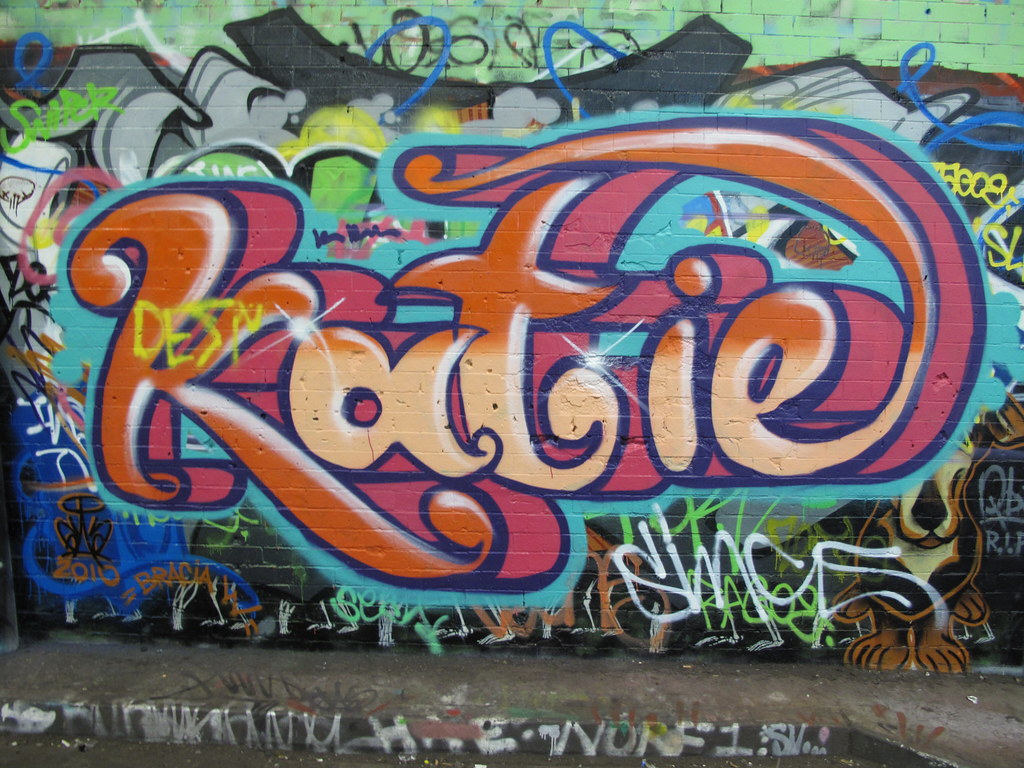 Katie graffiti | duncan c | Flickr