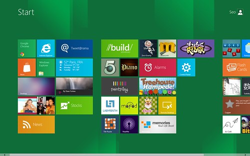 Windows 8 Preview Menu | by bytekut