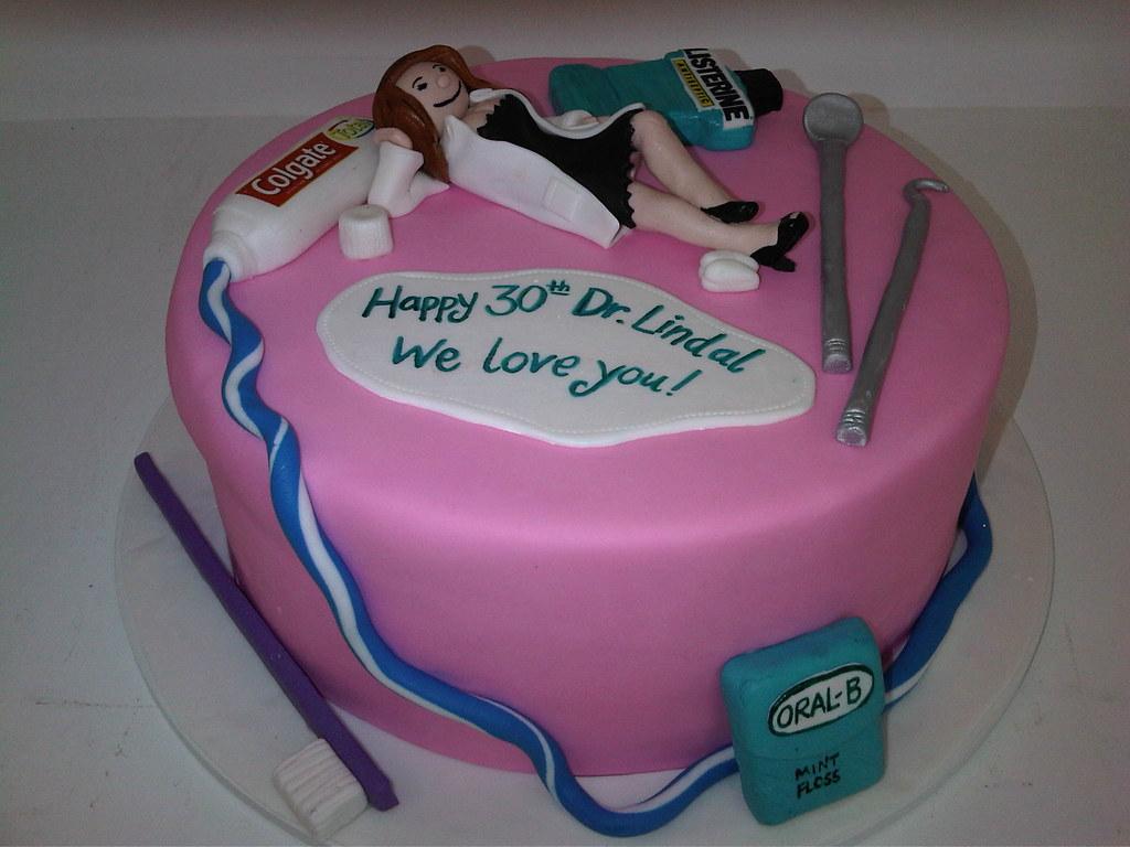 Dentist Birthday Cake 699 Asweetdesignfo Flickr