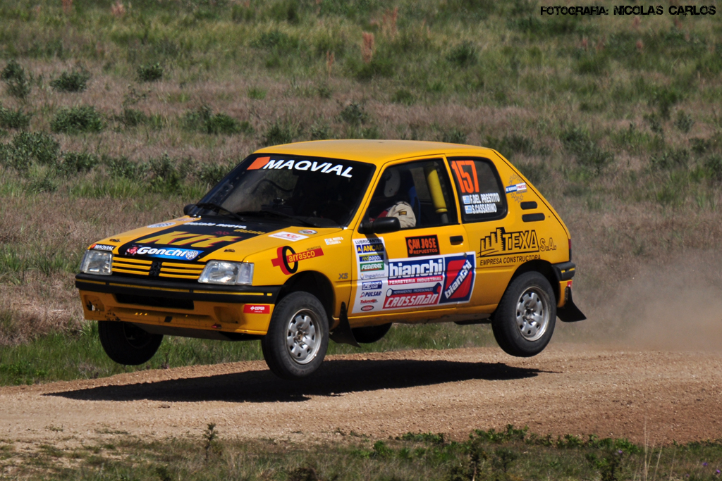 peugeot 205 xs rally de san jos fernando del prestito s flickr. Black Bedroom Furniture Sets. Home Design Ideas