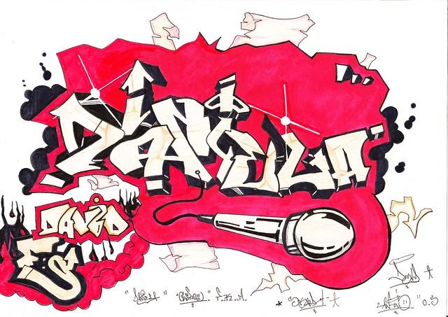Grafitis daniela - Imagui