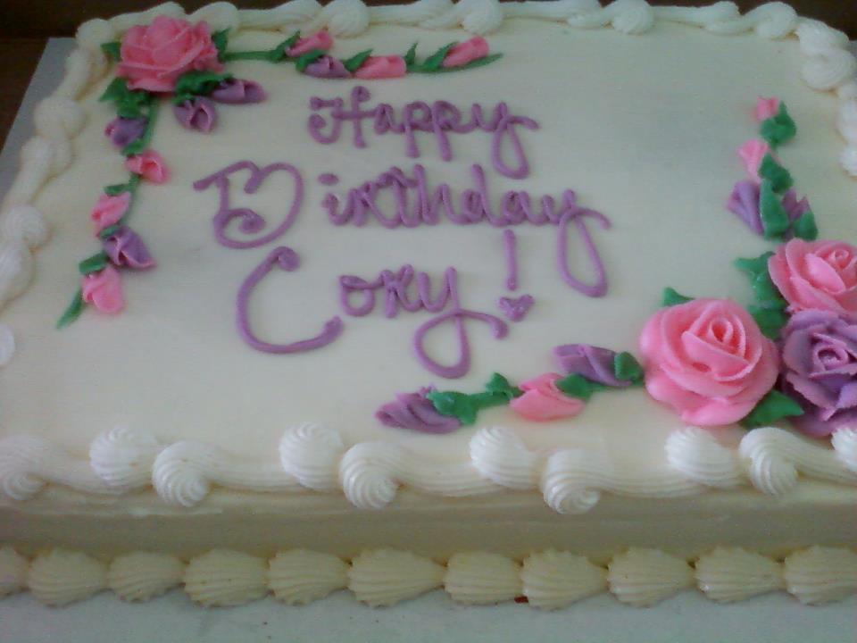 Happy Birthday Corey Cake