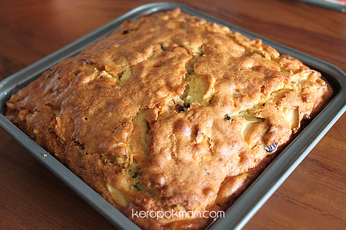 Granny Smith Cranberry Olive Oil Cake | by keropokman