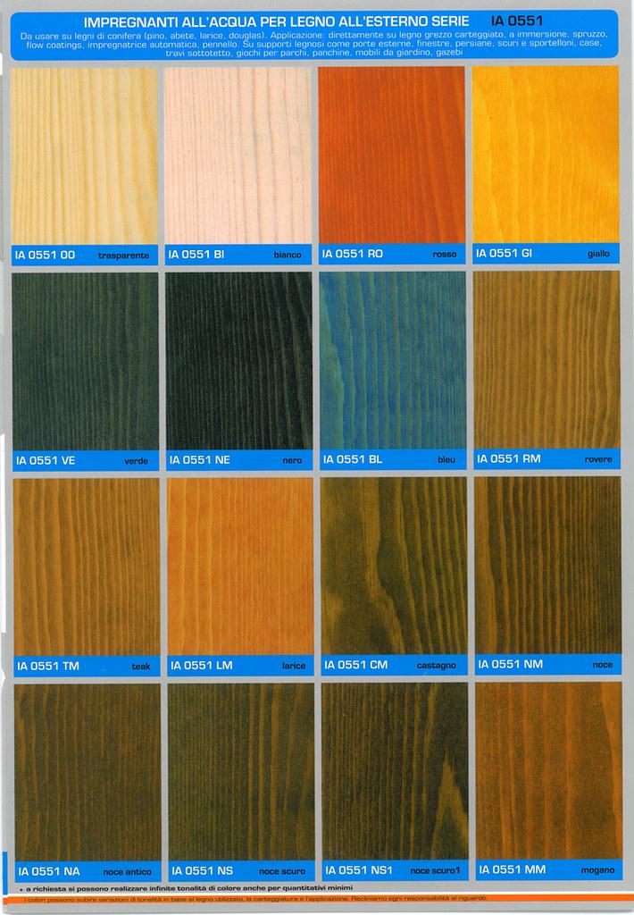 Cartella Colori IA 0551 XX impregnante allacqua per legni…  Flickr