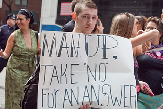 "Man Up, Take ""No"" For An Answer: SlutWalk NYC, 2011 