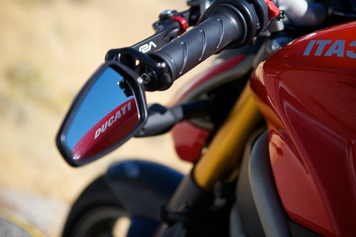 Ducati Monster With Arrow