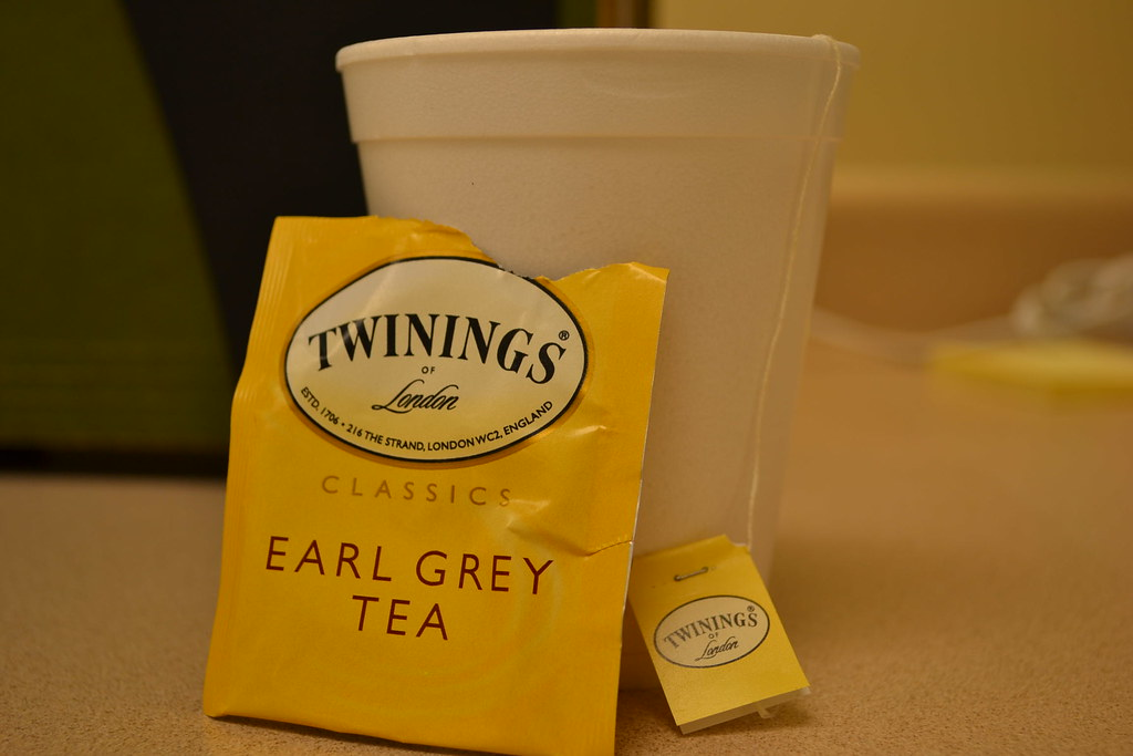 Earl Grey Tea Basil Cake