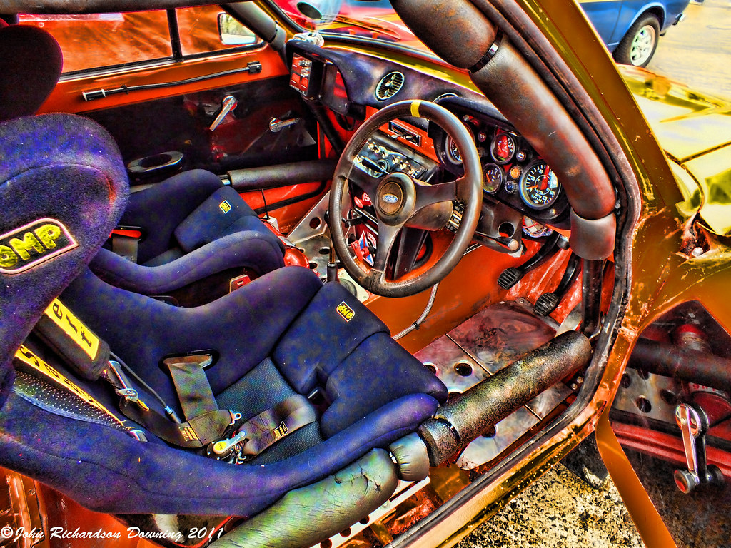 mk1 escort rally car interior john richardson downing flickr. Black Bedroom Furniture Sets. Home Design Ideas