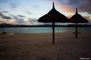 Mauritius Beach Sunrise | by Benjamin von Tilly Kistner