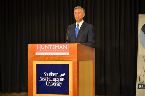 Presidential Candidate Jon Huntsman at Southern New Hampshire University | by SNHU