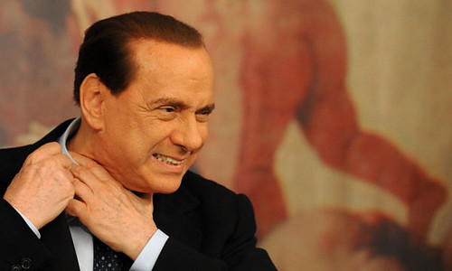 ITALY-GREECE-BERLUSCONI-PRESSER | by Andres Ubierna