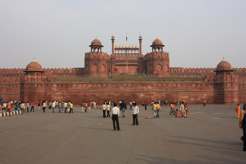 Delhi, Red Fort | Delhi, Red Fort, Lahori Gate The Red ...