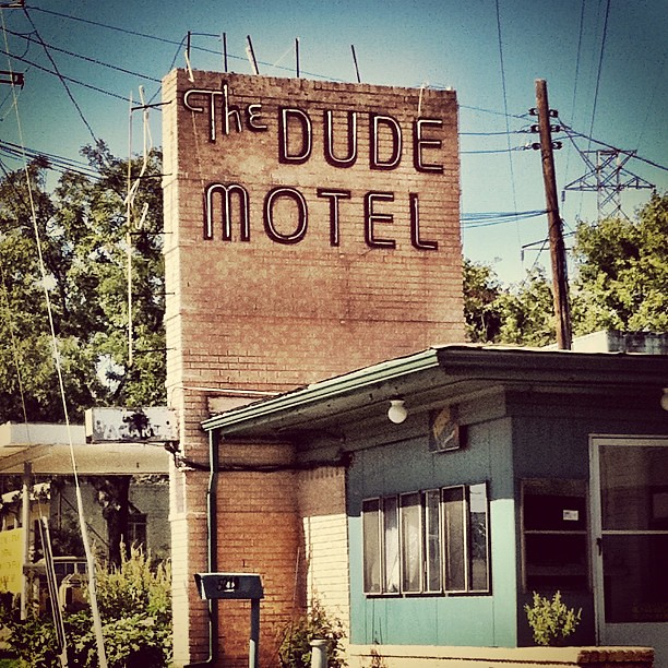 The Dude Motel In The North Fort Worth Area