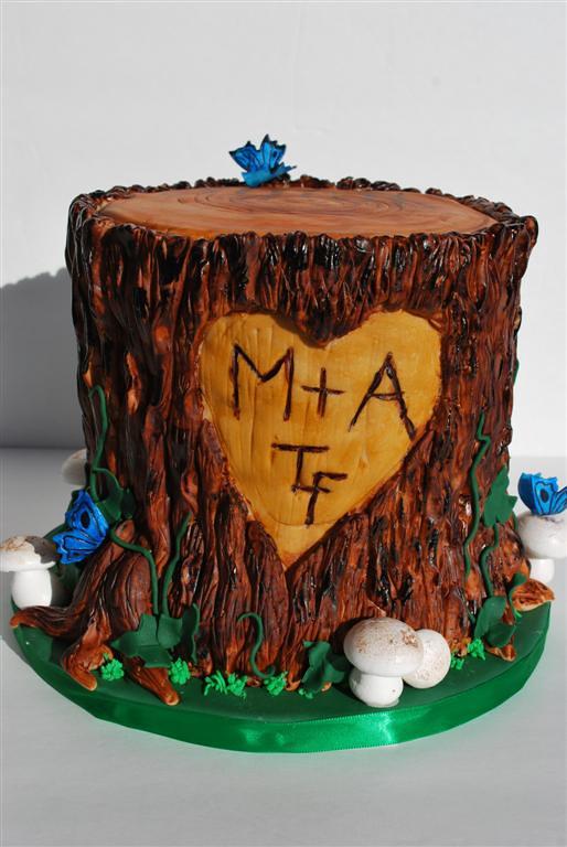 Tree Stump Cake Pan