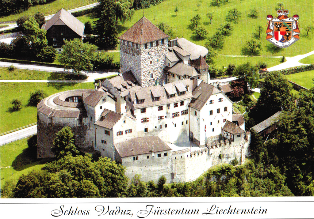 Fed Up >> Schloss Vaduz (Liechtenstein)   Card from meeting in Vaduz   Flickr