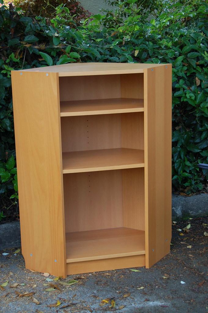 Ikea Billy Beech Corner Bookcase Fits Great In A Corner Be Flickr