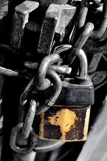 lock and chain | by *bomben*