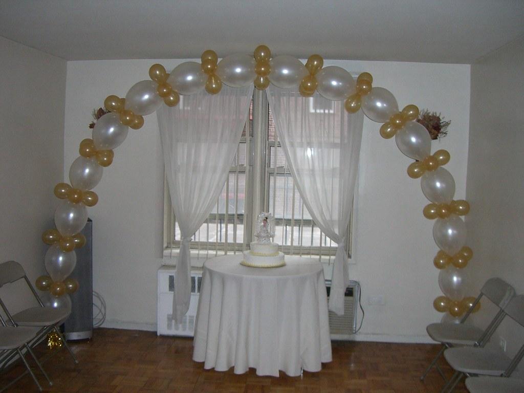 Arco de globos link arco de globos link inflados con - Como decorar un salon para comunion ...