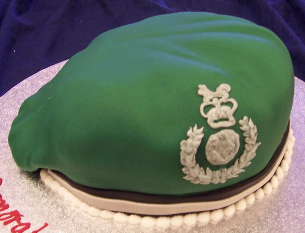 Beret royal marine cake | the cake box maypole | Flickr