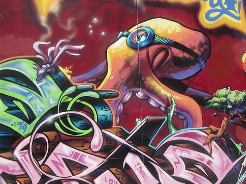 Octopus Street Art | by shaire productions