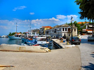 THASSOS TOWN HARBOUR. GREECE. | by ronsaunders47