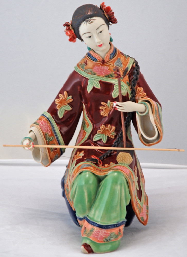 Bk0217y Porcelain Collectible Chinese Figurine Porcelain