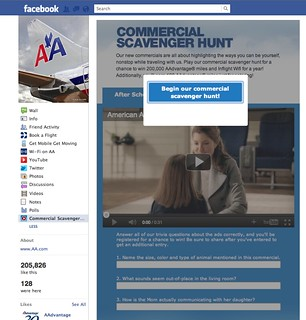 American Airlines Facebook Contest | by aadvantagegeek