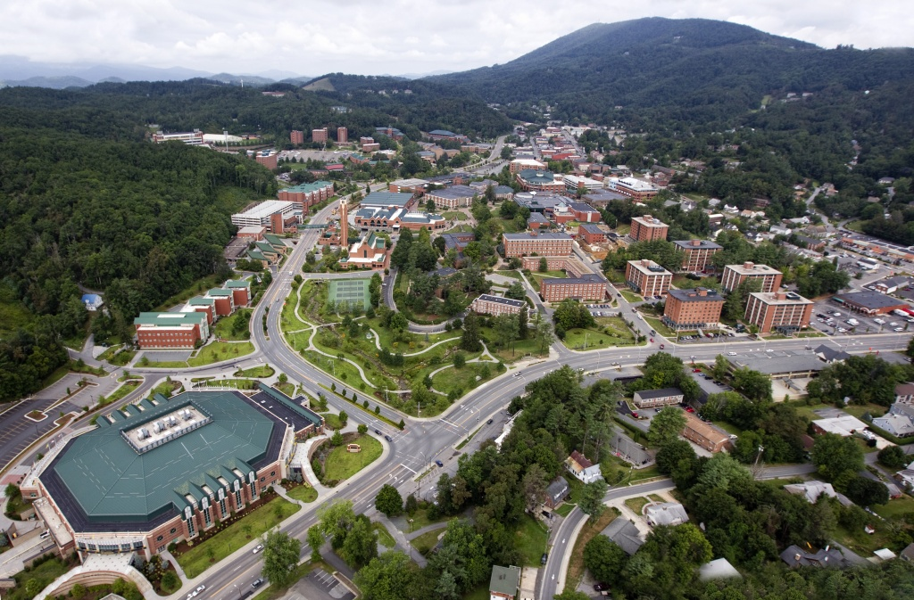 Asu Campus Appalachian State Copyrighted By View Of