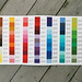 Free Spirit Designer Solids Color Card