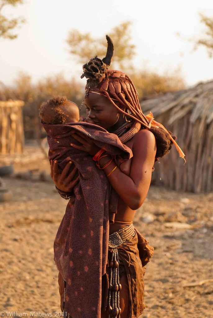 Himba People Mother Amp Child The Himba Are An Ethnic Group