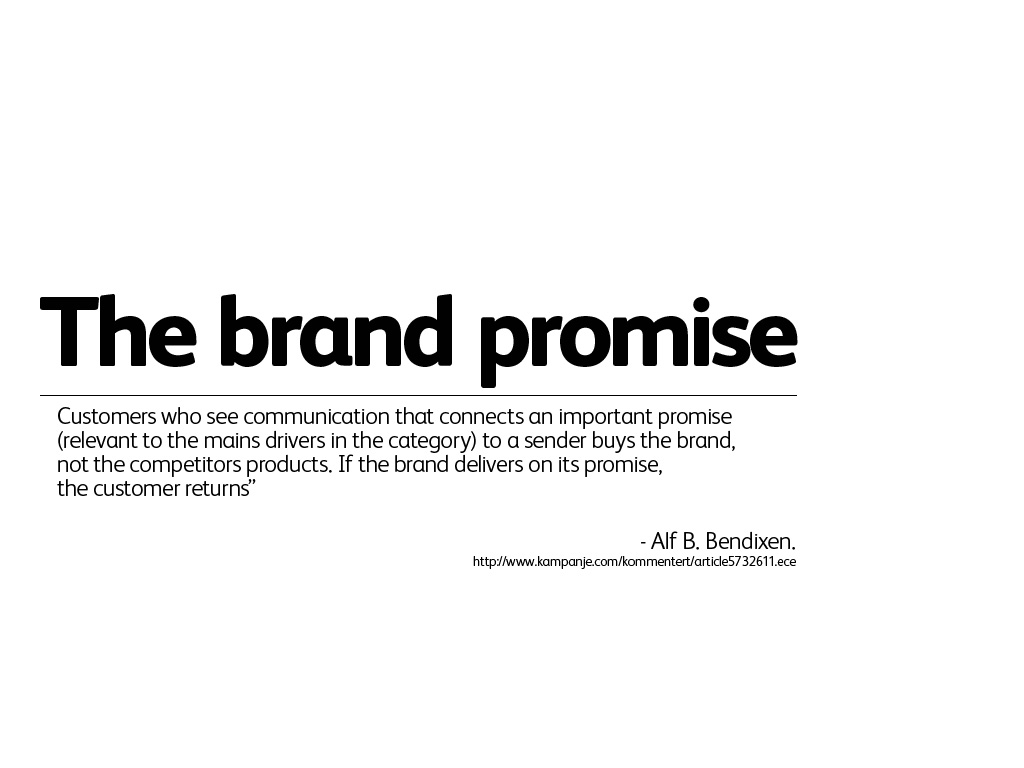 DE_The-brand-promise | Helge Tennø | Flickr