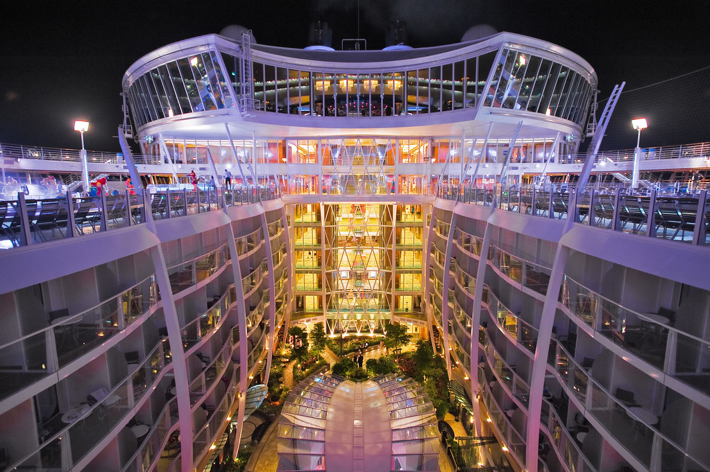 Allure of the seas bow arch2452 flickr - The allure of the modular home ...