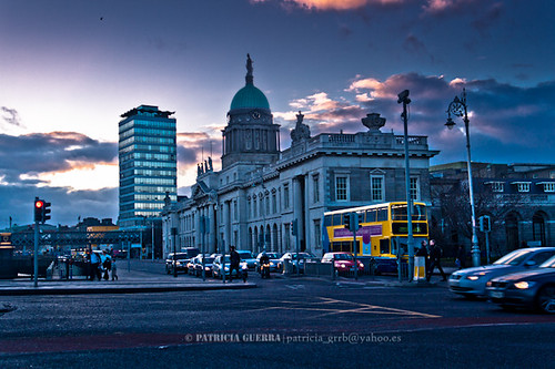 Customs House, Dublin (Two pics) | EXPLORED | by patricia_grrb