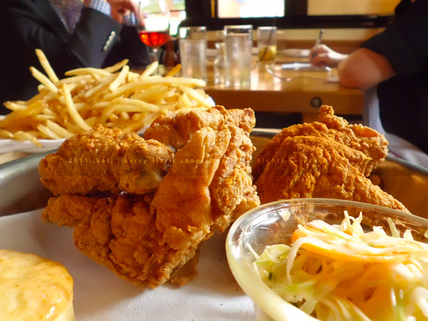 Hot Fried Chicken, Honey Butter Biscuits, Fries | The Dutch, Soho, NYC ...