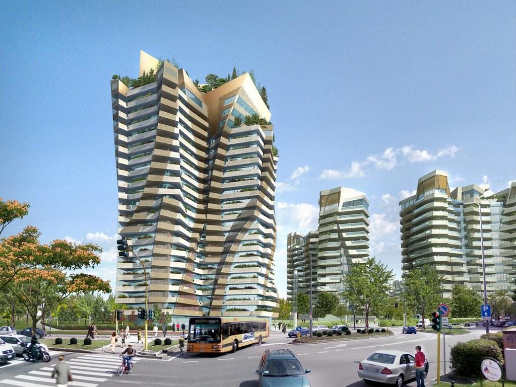 city life milano progetto di riqualificazione urbana ex flickr. Black Bedroom Furniture Sets. Home Design Ideas
