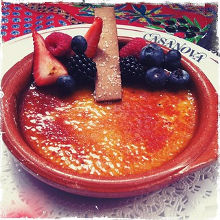 DELISH...creme brulee at Casanova in Carmel | by treiCdesigns