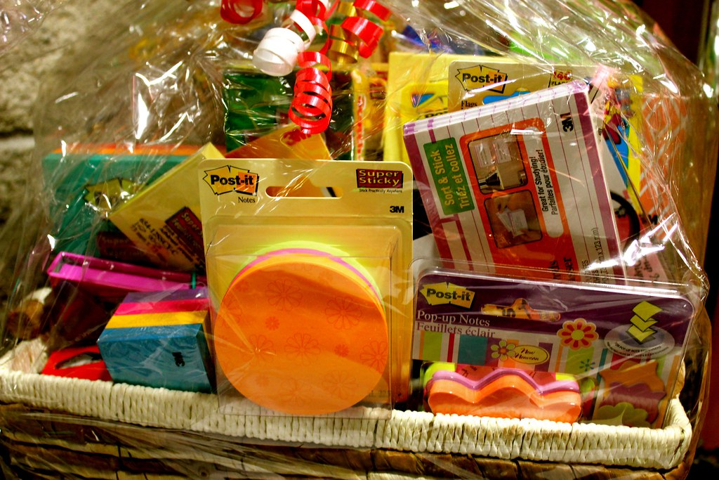 Classroom Theme Basket Ideas ~ Silent auction gift basket from m a great and useful
