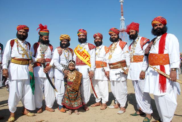 Costume of rajasthan men Men's Attire: | Flickr - Photo ...
