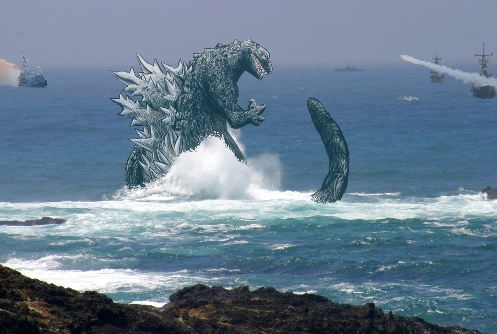 the gallery for gt real sightings of godzilla