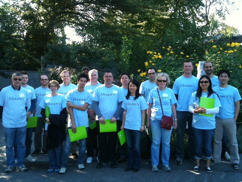 Moody's Volunteers after a great day at BBG! | by Brooklyn Botanic Garden