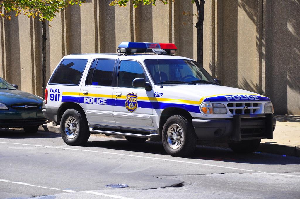 Philadelphia Police Department Ford Explorer Rmp