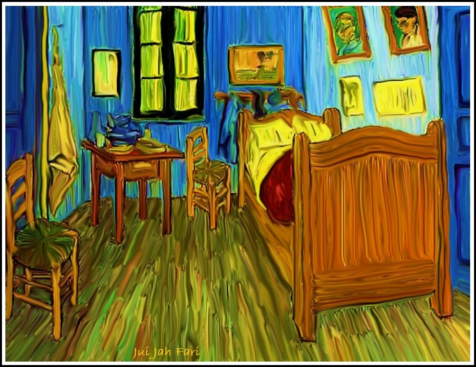 c das zimmer van gogh jui jah fari jui jah. Black Bedroom Furniture Sets. Home Design Ideas