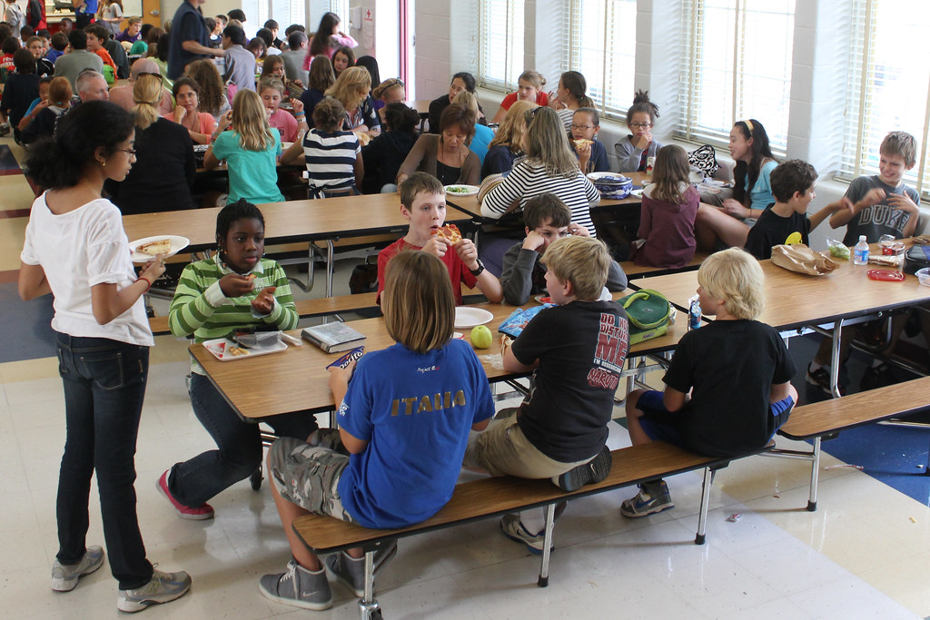 middle school lunch table. Unique Table Woodleywonderworks Middle School Lunch Room  By In Middle School Lunch Table