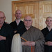 Ordination ceremony: Nyozan, Keizan, Taigen, & Eishin