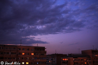 Twilight sky in Bucharest (extracted from the timelapse video) | by Daniel Mihai