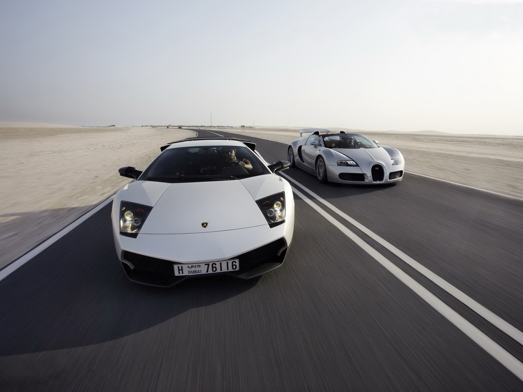 Lamborghini Murcielago vs Bugatti Veyron   Fouzzan   Flickr