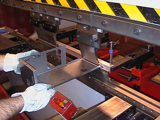 Edwards Pearson Press Brake Cnc Bending Sheet Metal Enclos